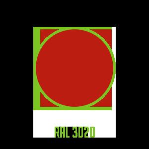 Couleur-RAL-3020
