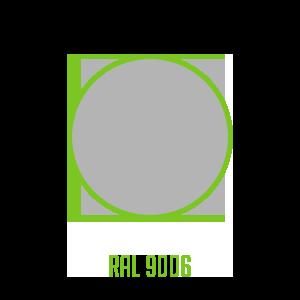 Couleur-RAL-9006