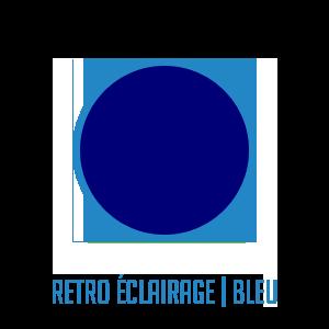 Couleur-retro-eclairage-bleu