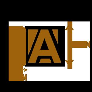 LETTRE-PVC-30mmX100cm