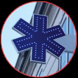 Enseigne-drapeau-ambulance