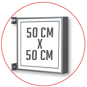 Enseigne-drapeau-lumineuse-50X50CM