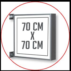 Enseigne-drapeau-lumineuse-70X70CM