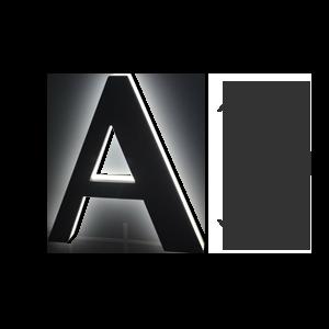 LETTRE-RETRO-ECLAIRAGE-100cm