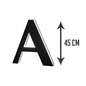 LETTRE-RETRO-ECLAIRAGE-45cm