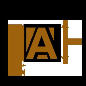 LETTRE-PVC-30mmX70cm